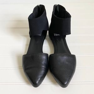 Eileen Fisher Shoes - Eileen Fisher Black Allot Pointy Toe Flats 7.5